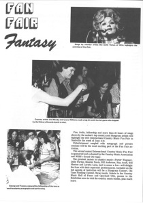1973 Fan Fair Program Book