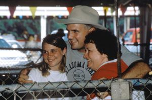 Here is Garth Brooks with fans at Fan Fair's 25th Anniversary.